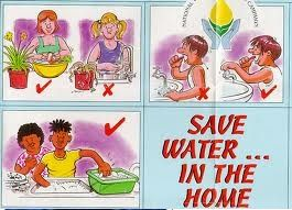 Pictures - how to save water