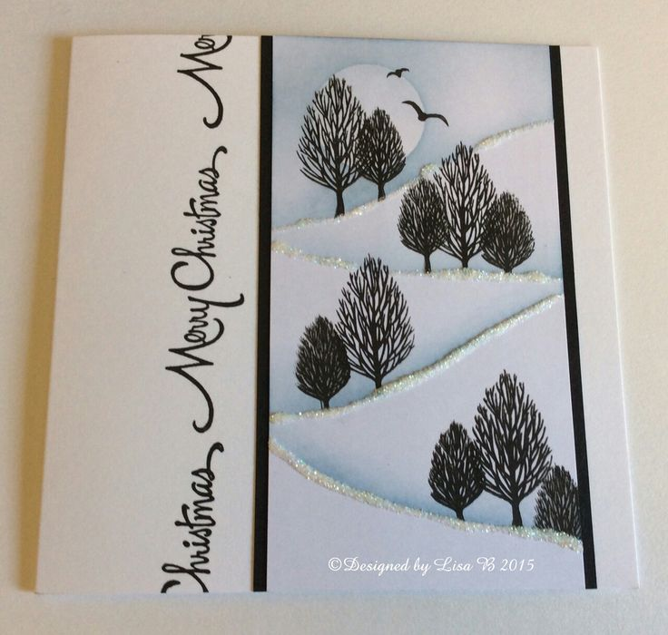 Lisa.B.Designs : Card-io Stamps Tree Card Tutorial