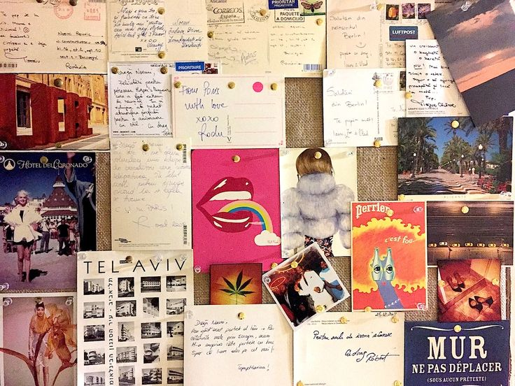 My postcards collage, created in May 2015. Summerlin. I was already missing my friends.