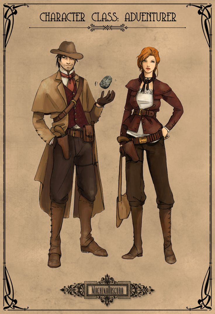 Image Gallery steampunk adventurer