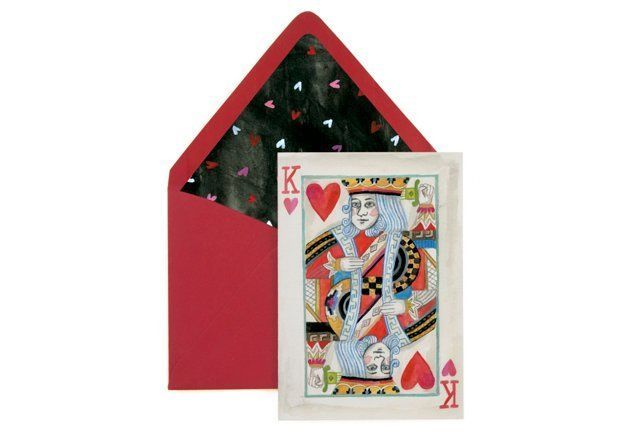 S/8 Mini Cards, King of My Heart | Lana's Shop
