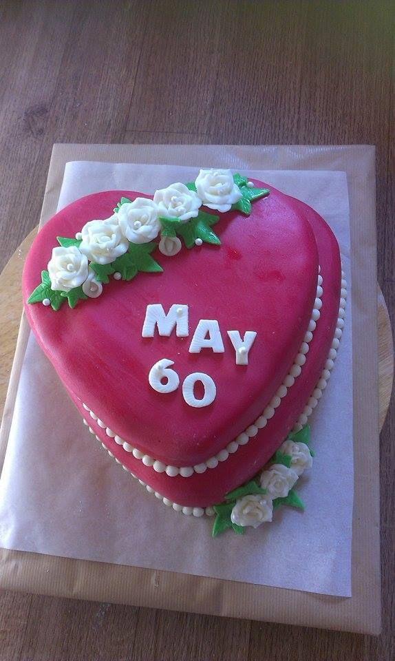60år kake
