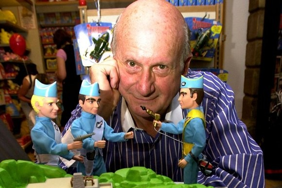 Gerry Anderson.  I started watching 'Twizzle' in 1962.  Since then: Supercar, Stingray, Thunderbirds, Captain Scarlet, Joe 90, UFO, Space 1999.  Fond memories of my youth.
