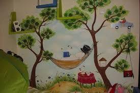 Картинки по запросу роспись стен детская