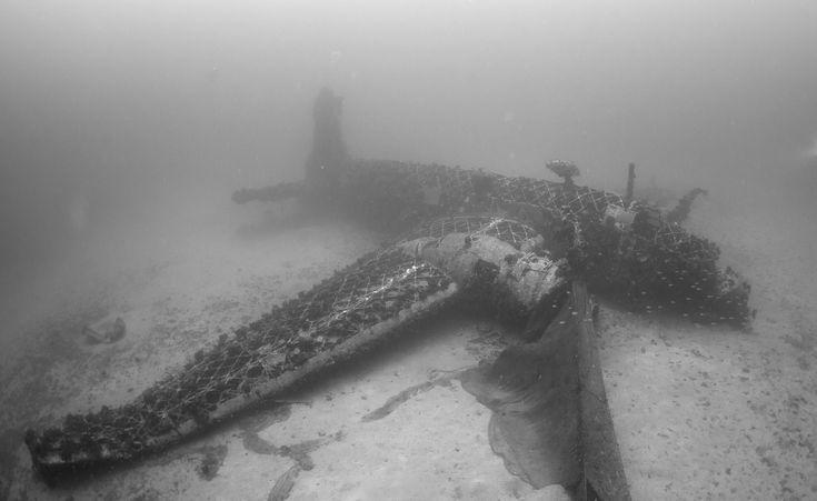 Vickers Wellington: A rare WW2 treasure at the seabed of the Aegean Sea
