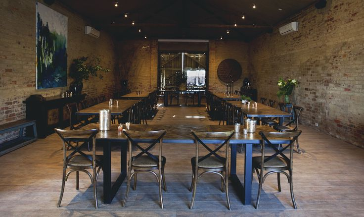 Events & functions space #events #functions #rustic #bricks #meletos