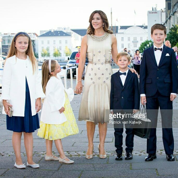 The Danish royal celebrate the 18th birthday of His Highness Prince Nikolai on the Royal Yacht Dannenbrog | August 28, 2017