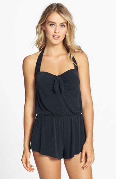 Magic Suit by Miraclesuit® 'Romy' One-Piece Romper Swimsuit available at #Nordstrom
