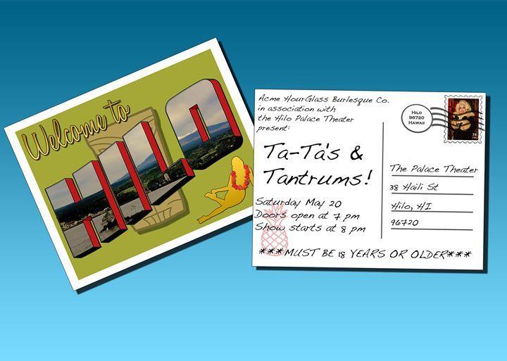 Burlesque: Ta-tas & Tantrums - http://fullofevents.com/hawaii/event/burlesque-ta-tas-tantrums-2/ #hawaiievents #Burlesque: Ta-tas & Tantrums