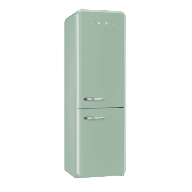 Smeg FAB32RNG 50's Retro Style Pastel Green Fridge Freezer