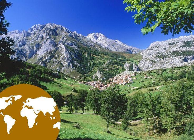 A paisaxe de montaña