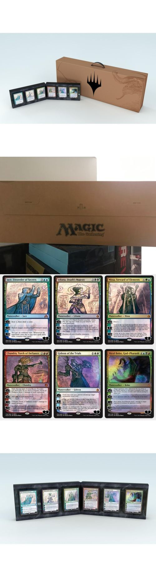 MTG Complete Sets 19114: Sdcc 2017 Magic The Gathering 2017 Planeswalker Pack Cards W Mondo Print In Hand -> BUY IT NOW ONLY: $379.95 on eBay!