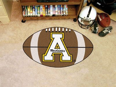 "Appalachian State Football Rug 20.5""x32.5"""