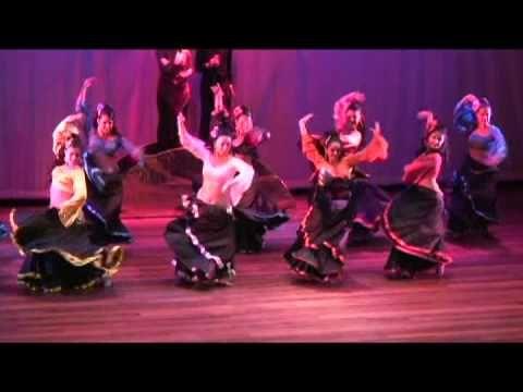 Corazón GItano Fusion Flamenco BEDA Bellydance - YouTube