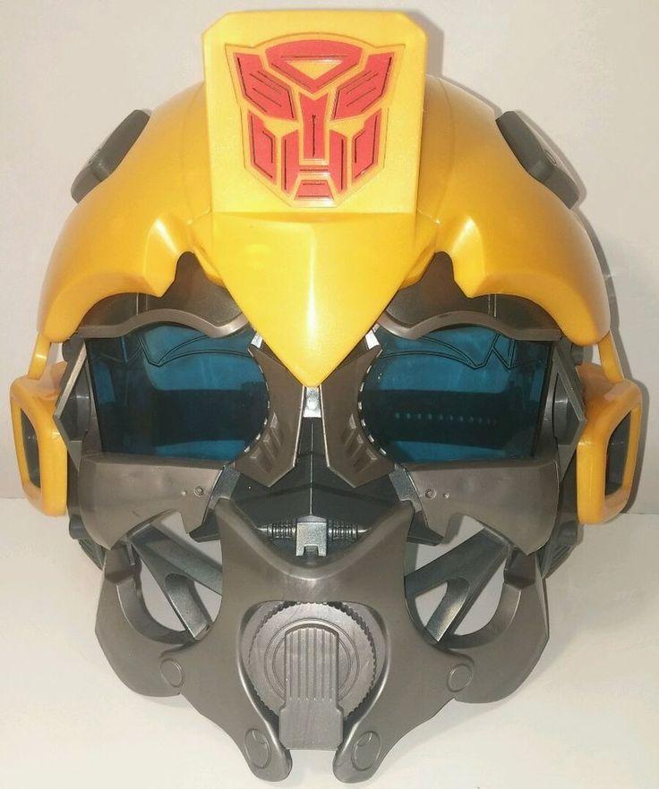 2008 Hasbro Transformers Bumblebee Voice Mixer Talking Helmet  #Transformers