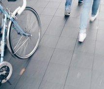 Inspiring image aesthetic, alternative, bicycle, bike, blue, blurry, city, cute,…