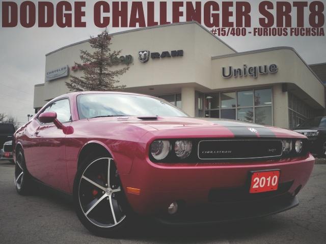 "2010 Dodge Challenger SRT8 ""Furious Fuchsia"" RARE. We've got #15 of 400.  UniqueChrysler.com"