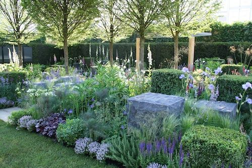 Hope on the Horizon Garden. RHS Chelsea Flower Show 2014. Click to read article and to see plants list used.