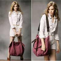 Women Canvas Casual Big Handbag Shoulder CrossBody Bags