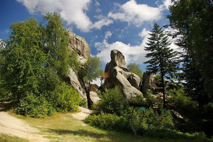 Rezerwat skalny Prządki