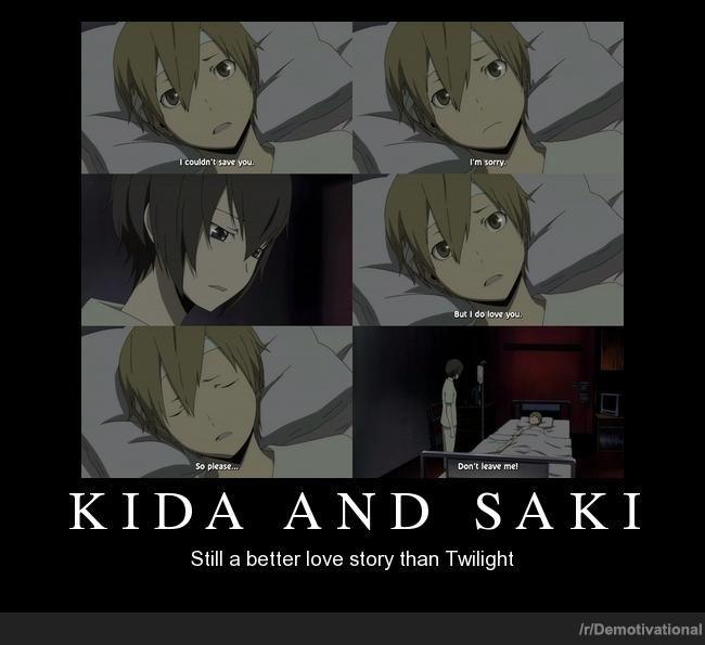 Durarara Masaomi Kida and Saki by KickMyCatsWolfBunny ...