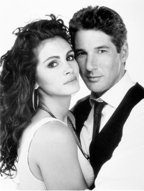 julia and richard in Pretty Woman / Directed by	Garry Marshall  Produced by	Arnon Milchan  Steven Reuther  Gary W. Goldstein  Written by	J.F. Lawton  Starring	Richard Gere  Julia Roberts  Music by	James Newton Howard  Cinematography	Charles Minsky  Editing by	Raja Gosnell  Priscilla Nedd  Studio	Silver Screen Partners IV  Distributed by	Touchstone Pictures  Release date(s)	  March 23, 1990  Running time	119 minutes  Country	United States  Language	English