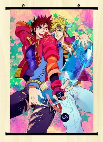 Jojo-JoJos-Bizarre-Adventure-Home-Decor-Anime-Japanese-Wall-Scroll-Poster