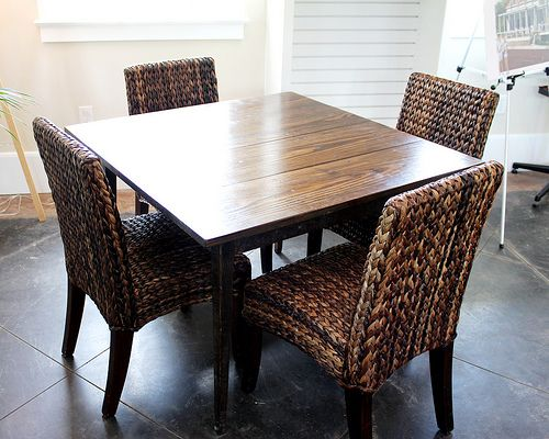 Kitchen Table made from reclaimed wood by Landrum Tables in Charleston SC  http:// - 42 Best For The Kitchen Images On Pinterest