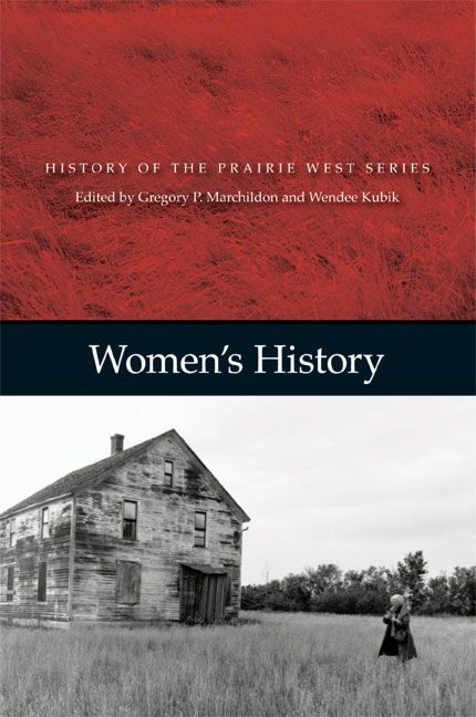 Women's History: History of the Prairie West, Volume 5