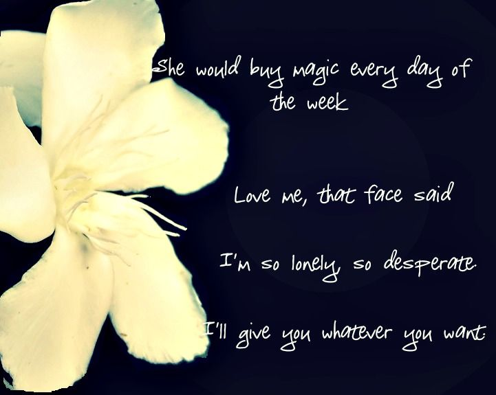 Literary Quotes. White Oleander by Janet Fitch