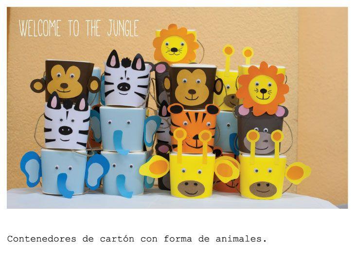 Welcome to the jungle!! Kids animal box.