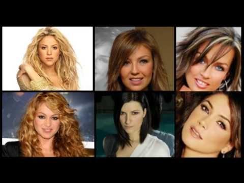 Shakira, Thalia, Fey, Paulina Rubio, Laura Pausini y Paty Manterola mix ...