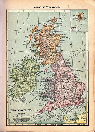 May not have seen Ireland yet, but I'm fond of all the British Isles.