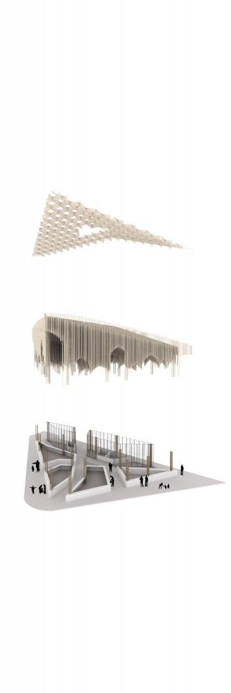 Sustainable Market Square Second Prize Winning Proposal - PMG Architects