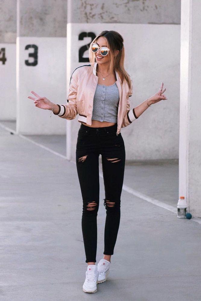 Perfekte Girly Frühlings-Outfits, die jeden Tag fantastisch aussehen ★ Mehr sehen: glaminati.c …