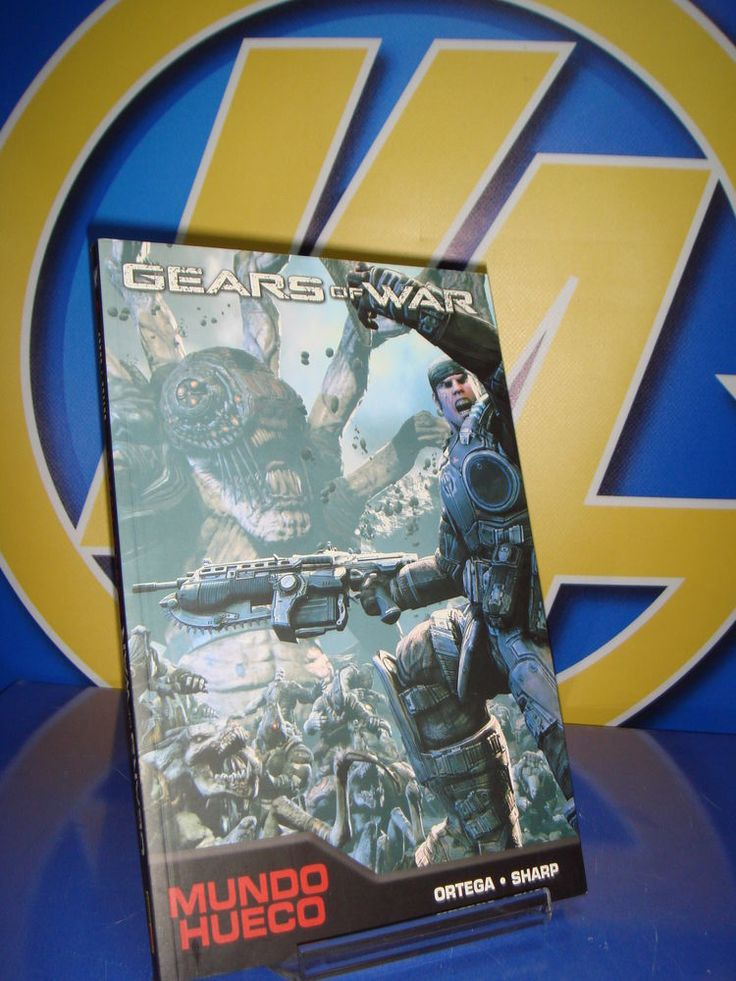 Comic GEARS OF WAR mundo hueco -panini comics
