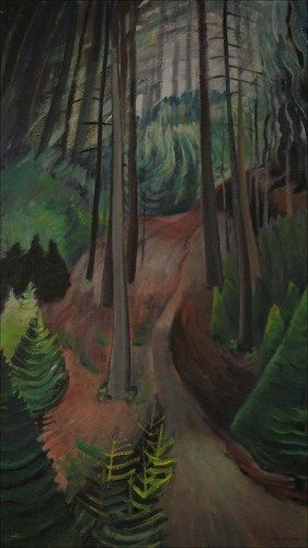 The Path, 1935, Emily Carr. Collection – Audain Art Museum