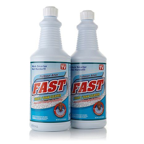 Prof Amos 32 Oz Fast Toilet Tank Cleaner 2 Pack I Really