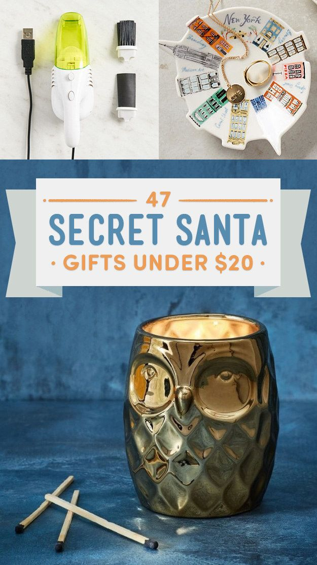 47 Secret Santa Gifts Under $20 That Everyone Will Want