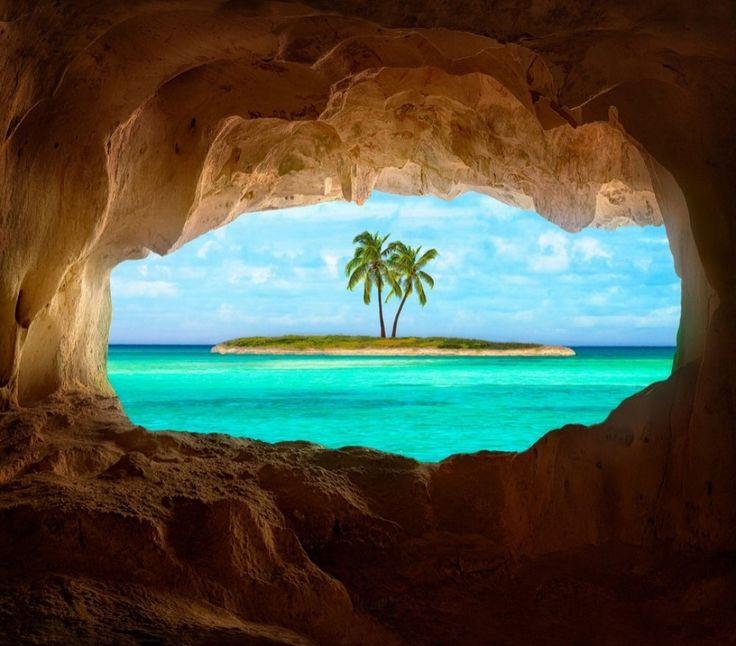 Голубая лагуна острова Фиджи