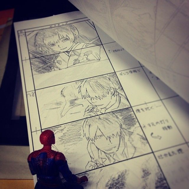 70 best Anime Storyboard images on Pinterest Storyboard - anime storyboard