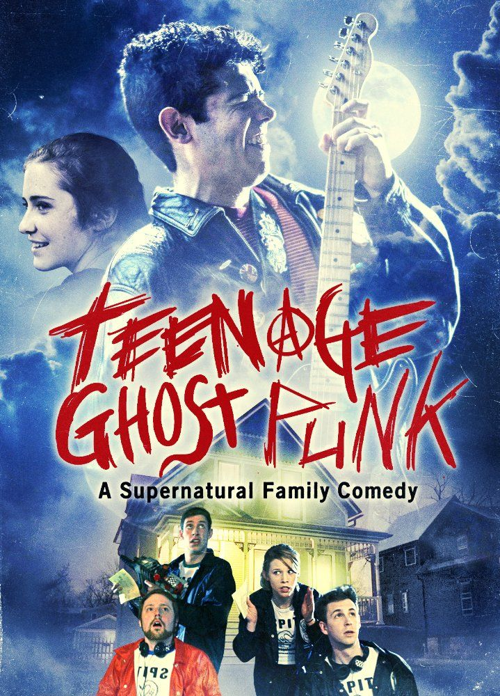 Film Review For Teenage Ghost Punk, Directed, Written by Mike Cramer. Produced by Midnight Releasing. Released on April 4, 2017, via Video On Demand #teenghostpunk #horror #comedy #indiefilm