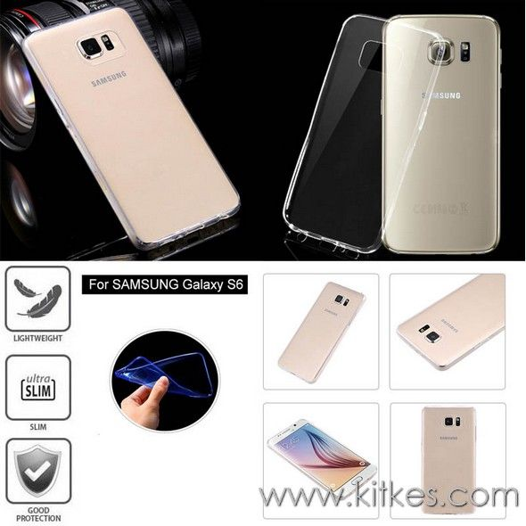 TPU Slim 0.3mm Soft Case Samsung Galaxy S6 - Rp 65.000 - kitkes.com