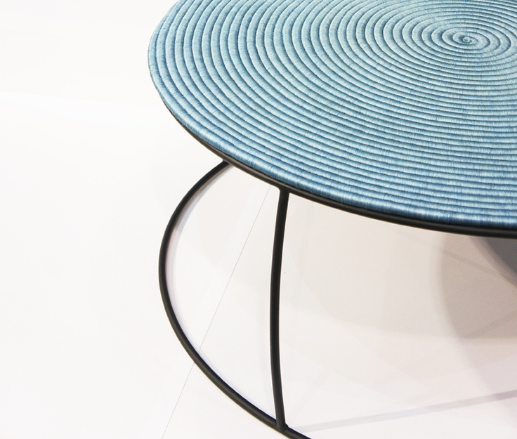 Zientte / Artesanias de Colombia. Guacamaya Table. Design: Sergio Vergara. #artisan #Table #design