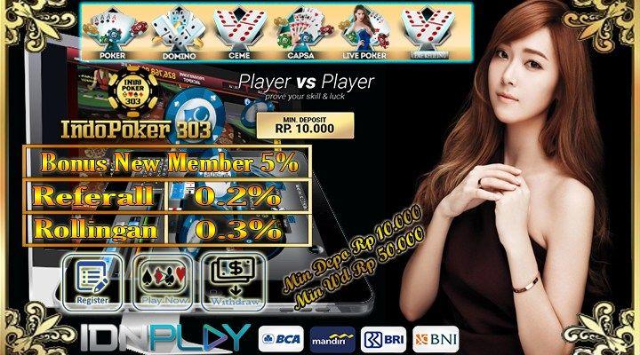 Promodomino303 Sebagai Agen Poker Online Sangat Terpercaya Di Asia