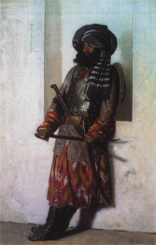 Uzbek Warrior in Tashkent - Vasily Vereshchagin