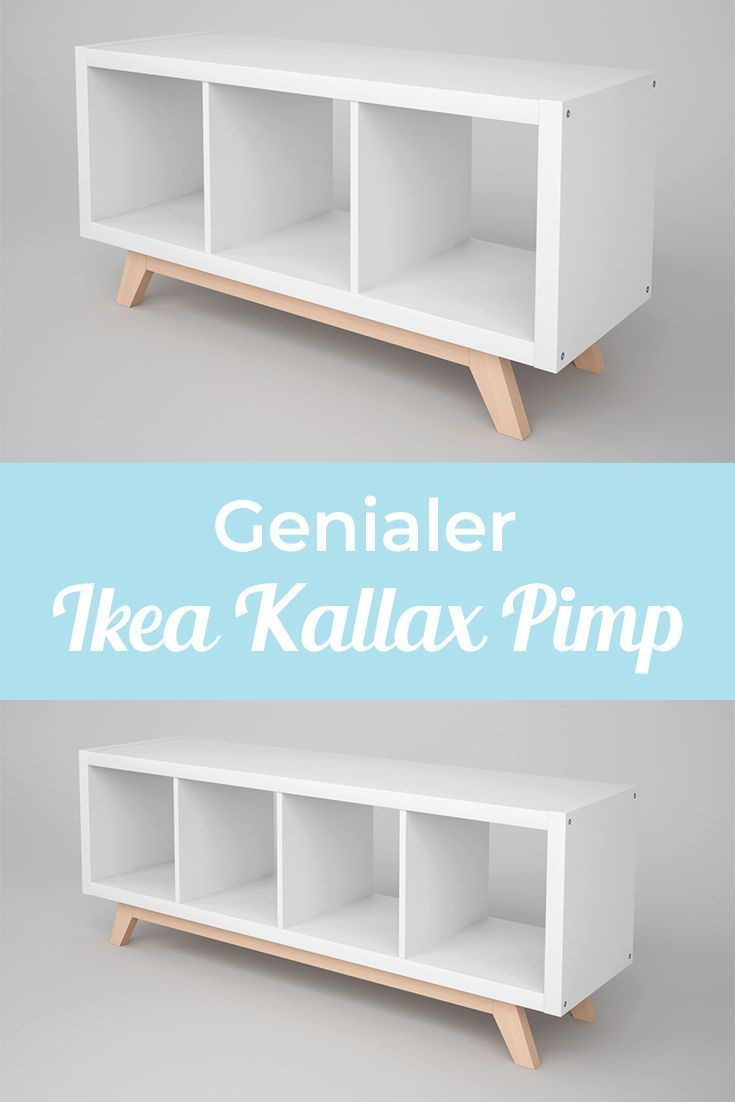 Kallax Estante Base De Madera Pies Inclinados Kallax Regal