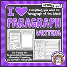 Paragraph of the Week | Paragraph Writing | Paragraph Organizers