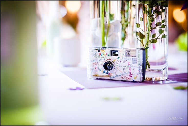 Einwegkamera für die Hochzeit
