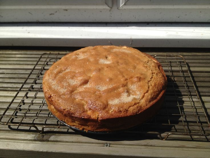 Somerset cider apple Cake fresh out of the oven. | English ...